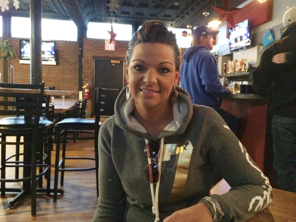 Tasha York of Waterville, a nursing student at Kennebec Valley Community College and a waitress at the Silver Street Tavern in downtown Waterville is credited with saving a city man's life by her quick response when he collapsed on the dance floor on New Year's Eve.