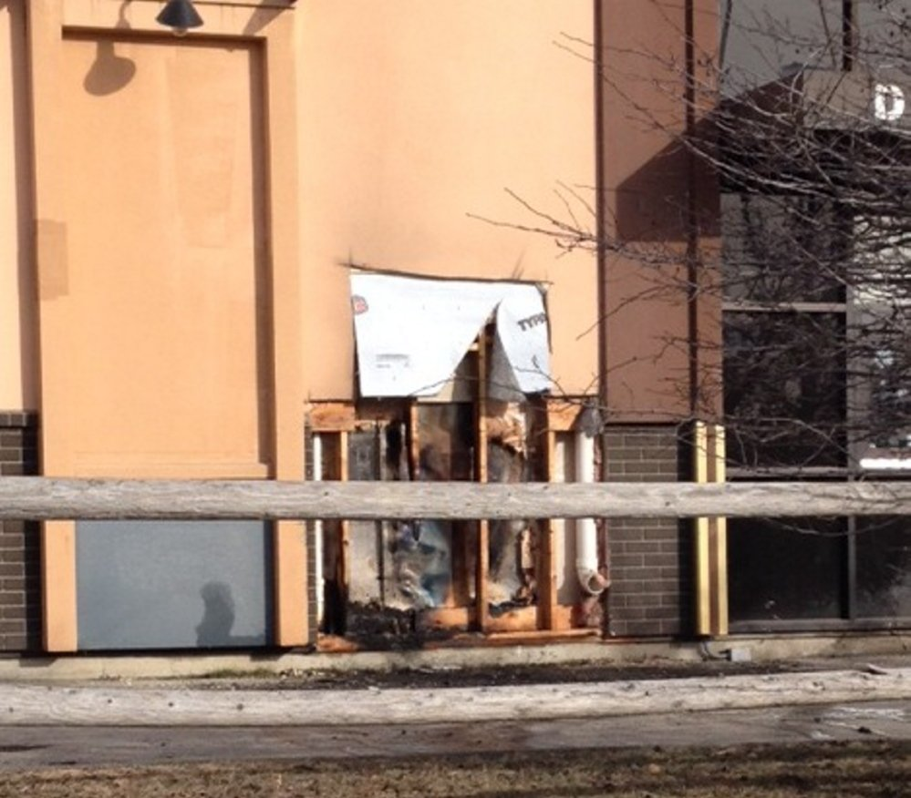 The KFC/ Taco Bell on Darin Drive was damaged by fire early Saturday and was expected to remain closed for at least a day. The fire was caused by a commercial cooking appliance, firefighters said.