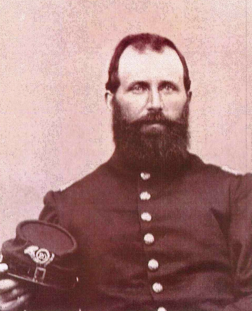 Capt. Charles W. Billings, of Clinton, died from wounds suffered during the defense of Little Round Top at the Battle of Gettysburg. He was the highest ranking member of the 20th Maine Volunteer Infantry Regiment to be mortally wounded during the battle.