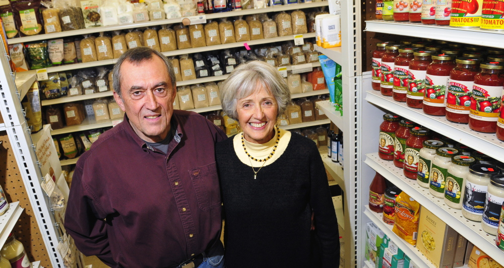 Harvest Time owners Lew and Karen Purinton will be honored in January with the President's Award from the Kennebec Valley Chamber of Commerce.