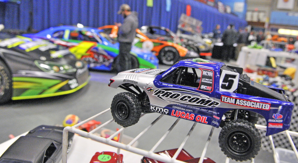 There are everything from full-sized to miniature cars on display at the 27th annual Northeast Motorsports Expo and Trade Show on Friday at the Augusta Civic Center.