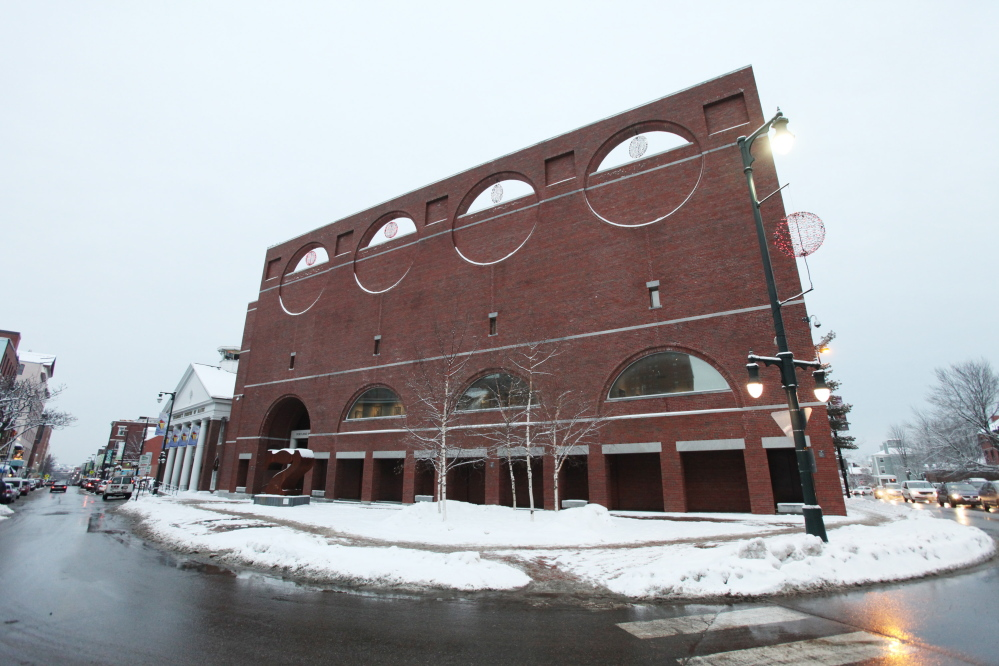 The Portland Museum of Art is seen Monday in Portland, Maine. Under Gov. LePage's proposed budget, cities and towns would be able to collect property taxes from non-profit groups that were previously exempt. The property is valued at $18,815,200 and the tax bill would be $376,304.