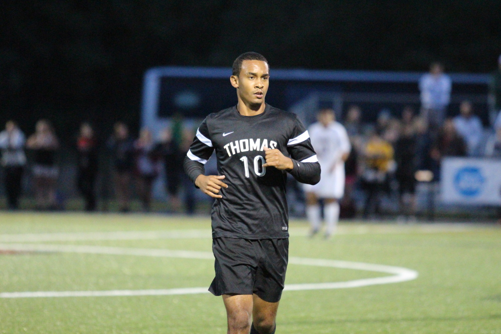 Trey Ming, a Thomas College junior, was invited to train with the Bermuda national men's soccer team. However, a thigh injury prevented him from training last week in Bermuda.