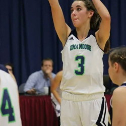 Contributed photo   Jamie Plummer is having a standout season for the University of Maine at Augusta women's basketball team. She is averaging 20.5 points a game.