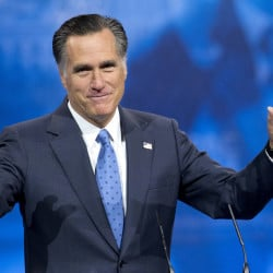 "Former Massachusetts governor and 2012 Republican presidential candidate Mitt Romney: ""After putting considerable thought into making another run for president, I've decided it is best to give other leaders in the party the opportunity to become our next nominee."" The Associated Press"