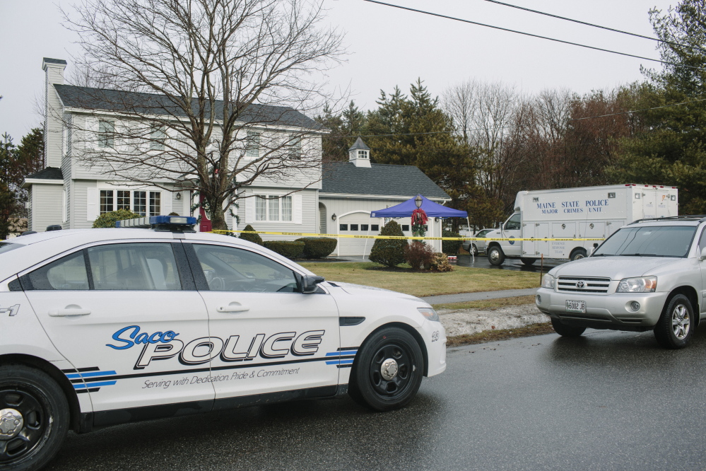 Maine State Police and Saco police investigating the home invasion at 24 Hillview Ave. in Saco found a boot print in a flower bed and a type of 9 mm shell casing that authorities say helped put Gregory Owens at the crime scene and led to his arrest.
