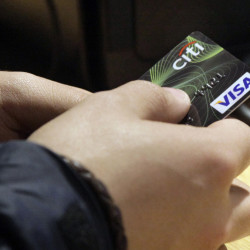 A new study says credit card data can be used to identify the cardholder by analyzing a few transactions. The Associated Press