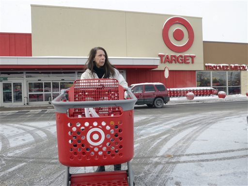Joanne Coulombe Leaves A Target Store In Saint Eustache Quebec On Thursday