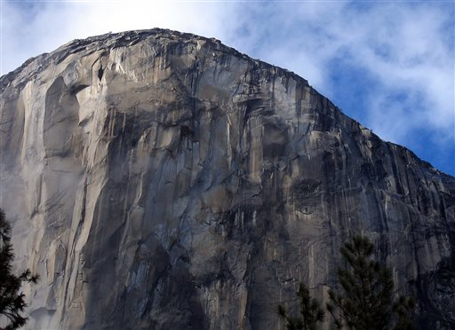 Two men, Kevin Jorgeson and Tommy Caldwell, are roughly halfway through climbing El Capitan, the largest monolith of granite in the world, rising more than 3,000 feet above the Yosemite Valley floor. The Associated Press