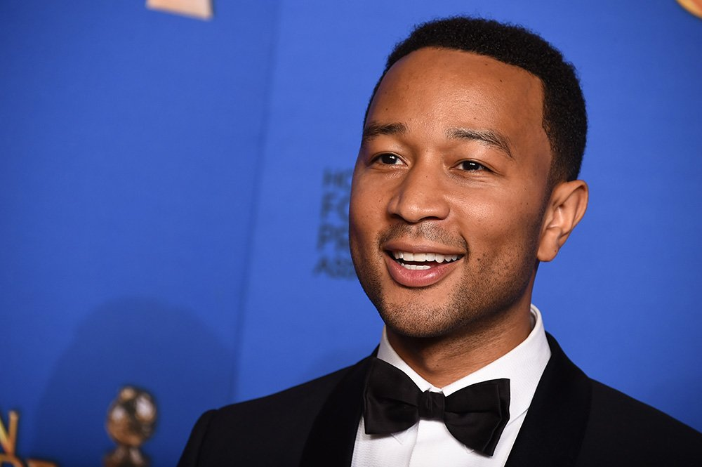 "John Legend won an award for performing the best original song, ""Glory,"" for the film ""Selma"" at the Golden Globe Awards on Jan. 11, 2015. The Associated Press"
