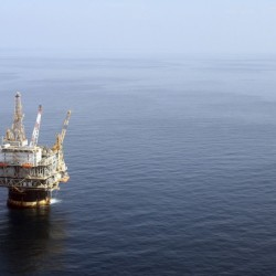 The oil industry applauds Obama's proposal, saying much of the U.S.'s offshore potential remains untapped. Production from offshore wells, like this one in the Gulf of Mexico near New Orleans, accounts for 16 percent of the oil produced in the U.S. now. The Associated Press
