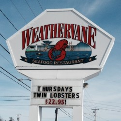 Weathervane Restaurant in Waterville.
