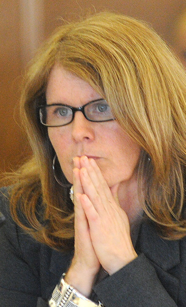 DHHS chief Mary Mayhew says federal officials will not recertify Riverview while the percentage of criminal court-referred patients is at its current level. Press Herald file photo