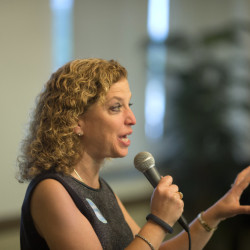 """Democratic National Committee Chair, Rep. Debbie Wasserman Schultz, D-Fla., says the initial findings by a task force were based on hundreds of meetings with party leaders and members of Congress and included a survey completed by 10,000. Democrats are struggling to answer a simple question – """"What's a Democrat?"""""""
