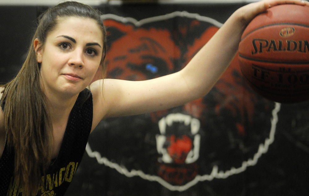 Maranacook Community High School's Sarah Clough and the Black Bears earned their first regional title in school history last Saturday. The team will face Eastern Class C champ Houlton for the state title Saturday.