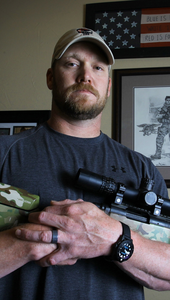 "Chris Kyle described Eddie Routh, who later killed him, as ""straight-up nuts."""
