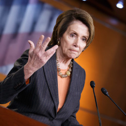"House Minority Leader Nancy Pelosi of California told Republicans ""You have made a mess,"" as debate neared an end Friday and the House prepared to vote to fund the Homeland Security Department for three weeks."