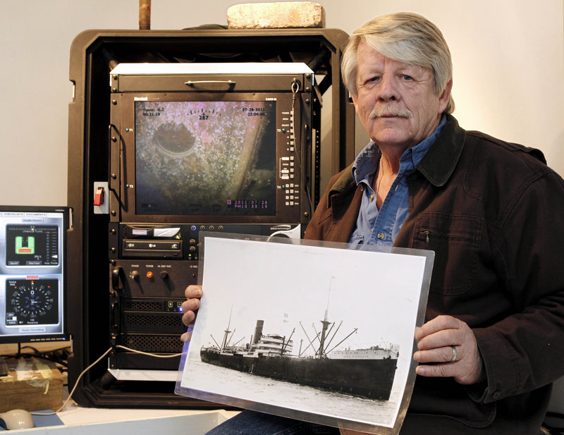Greg Brooks of Gorham, whose company was awarded salvage rights in 2008 to a World War II-era shipwreck off Cape Cod, believed there was $3 billion in treasure aboard the wreck.