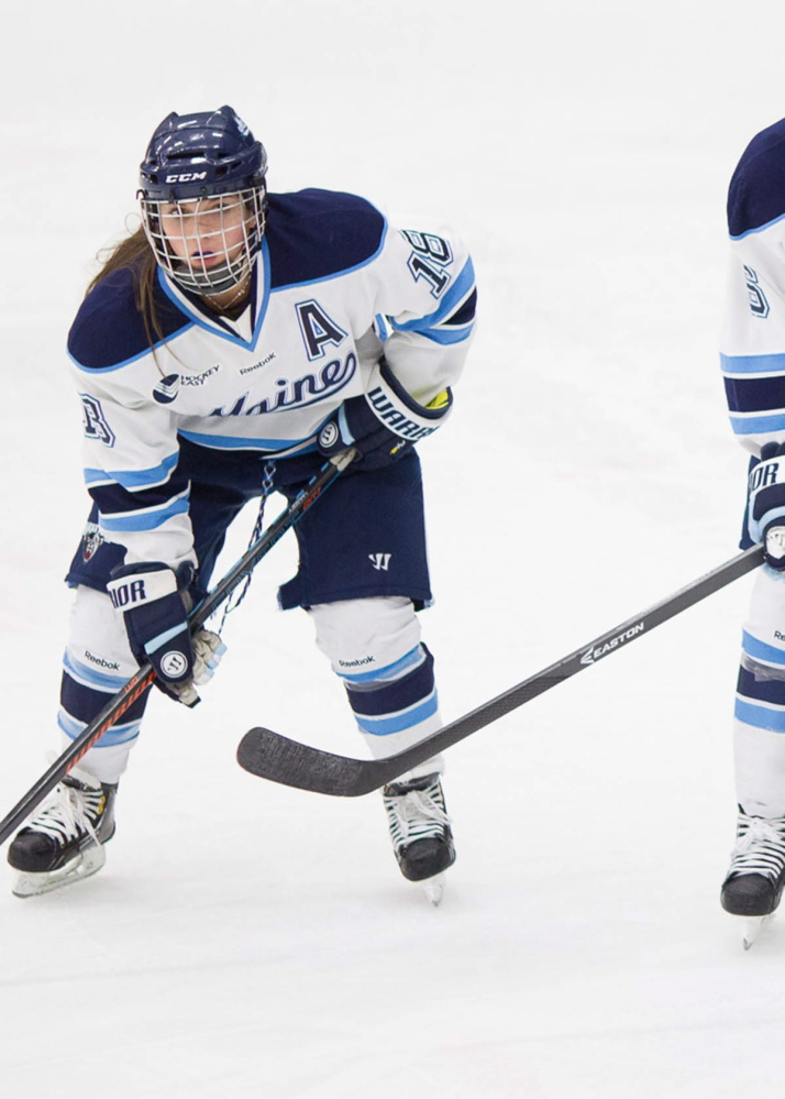 Waterville graduate Katy Massey recently completed an impressive career for the University of Maine women's hockey team. Massey, who started out as a walk-on, leaves with the most games played for the Black Bears in a career with 132.