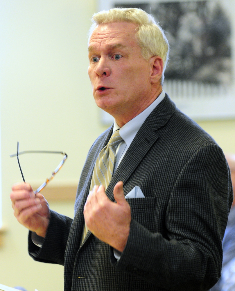 """Jay Kitchner, of the Calvary Group, said L.D. 335, """"An Act To Prohibit the Sale of Dogs and Cats in Pet Shops,"""" would drive more Mainers to buy dogs from entirely unregulated sources in his testimony before the Legislature's committee on Agriculture, Conservation and Forestry in the Cross State Office Building in Augusta on Thursday."""