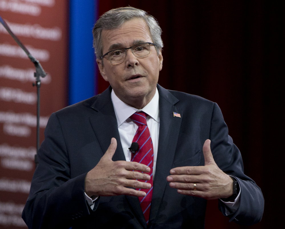 Former Florida Gov. Jeb Bush and former Texas Gov. Rick Perry, both Republicans, criticized Hillary Rodham Clinton Clinton, even though they each used private emails when they held the post as their state's top executive.