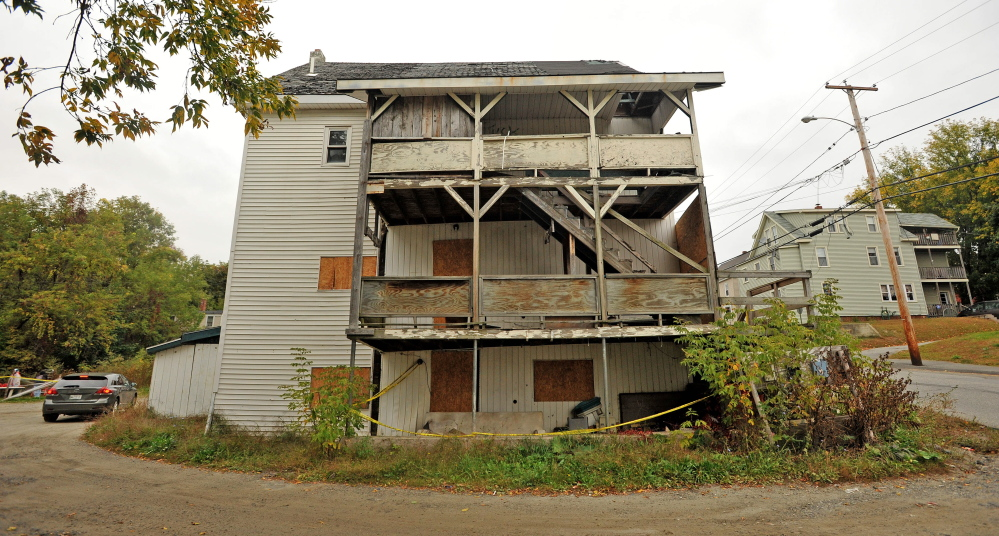 Safety Upkeep Of Buildings Overwhelm Waterville Code
