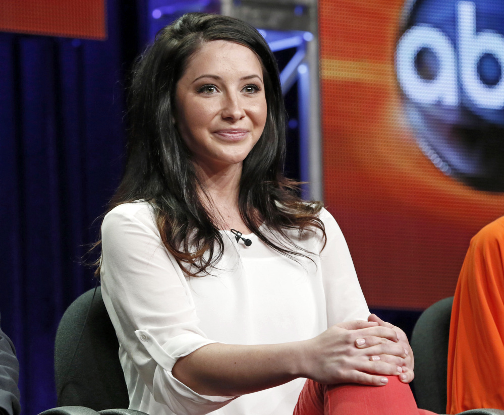 "In this July 27, 2012 file photo, Bristol Palin attends the ""Dancing with the Stars: All Stars"" panel at the Disney ABC Television Critics Association session in Beverly Hills, Calif. Bristol Palin says she is engaged to Medal of Honor recipient Dakota Meyer."