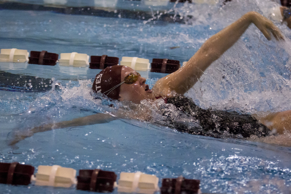 Bates junior Lindsey Prelgovisk will compete in the NCAA Division III national championships this week in Shenandoah, Texas. She will swim the 100-yard butterfly and 400 freestyle.