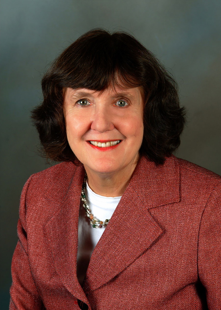 Staff file photo by David Leaming Barbara Woodlee, seen here as president of Kennebec Valley Community College, will be inducted Saturday into the Maine Women's Hall of Fame. Woodlee left KVCC in 2012 and is now chief academic officer for the Maine Community College System.