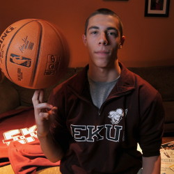 Messalonskee High School basketball player Nick Mayo is the Gatorade Maine Boys Basketball Player of the Year.