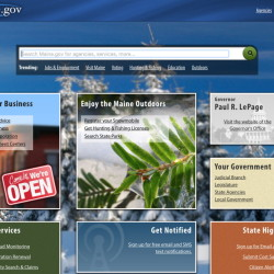 The state government website maine.gov, which residents use to register cars, purchase hunting and fishing licenses and for myriad other services, was shut down by a cyberattack for three hours Monday morning.
