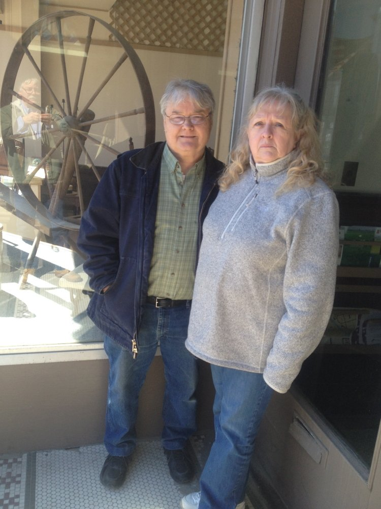 Greg and Lynette Salisbury, of Skowhegan, have used the town's facade grant program to spruce up two downtown businesses and say the program has been a success downtown.