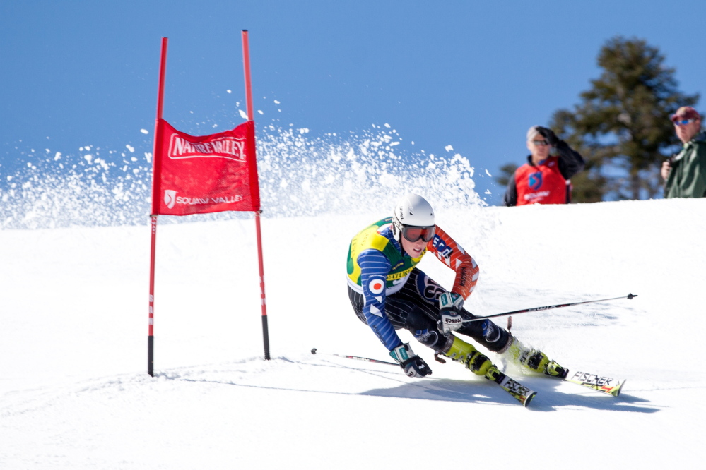Sam Morse, 18, of Carrabasset Valley, is one the top junior downhill skiers in the country. The Carrabassett Valley Academy grad will compete in the U.S. Alpine Championships this week at his home course, Sugarloaf Mountain.