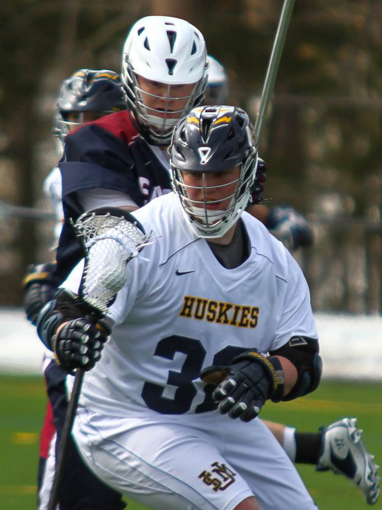 USM sophomore Seth Wing has 11 goals through three games this season — five assisted by Keegan Smith.