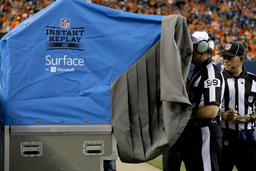 NFL owners shot down nearly every video replay proposal brought to their meetings Tuesday, while approving several safety rules enhancements.