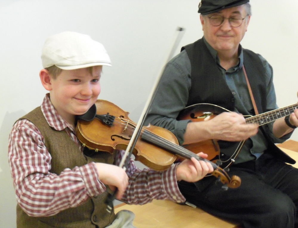 DownEast Country Dance Festival: Owen Kennedy, 9, of Winthrop, and Don Cunningham, of Lewiston, are among the dozens of musicians performing at the 25th annual DownEast Country Dance Festival in Topsham on Saturday, March 28.