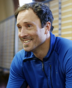 Two-time Olympic champion snowboarder Seth Wescott talks about his training and goals for 2018 Winter Olympics Thursday at Sugarloaf mountain ski resort.