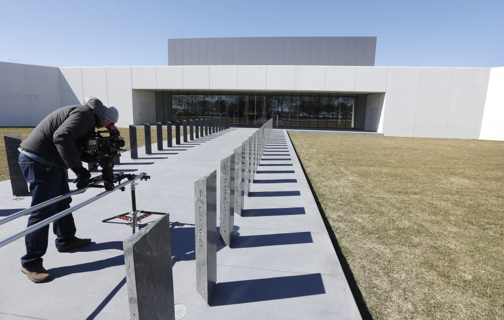 The $79 million Edward M. Kennedy Institute is scheduled to be dedicated on Monday and open to visitors on Tuesday.