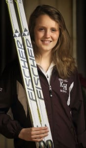 Staff photo by Andy Molloy Kents Hill's Anne McKee is the Kennebec Journal's Nordic Skier of the Year.