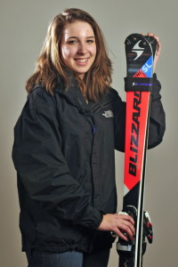 Maranacook Community School's Erin Guilmet is the Kennebec Journal Girls Alpine Skier of the Year.