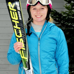 Mt. Abram's Kenzie Tyler is the Morning Sentinel Girls Alpine Skier of the Year.