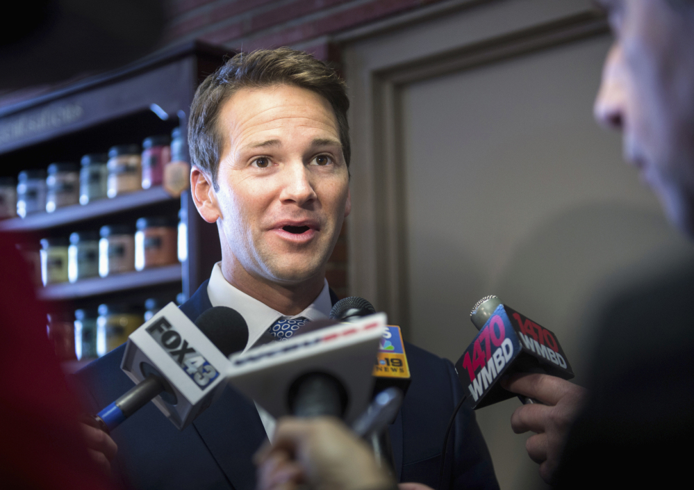Rep. Aaron Schock, R-Ill., resigned Tuesday amid mounting questions about his business dealings with donors and lavish spending.