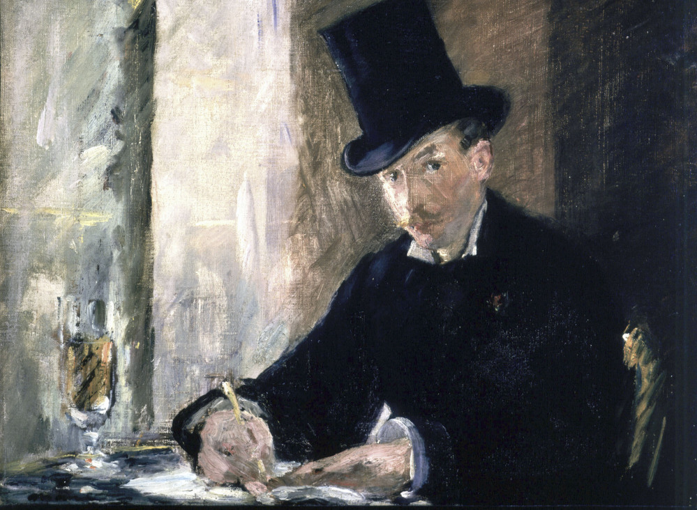 """Among the missing masterpieces is Edouard Manet's """"Chez Tortoni."""""""