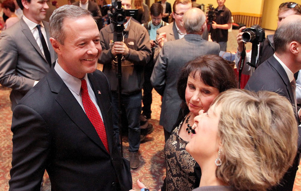 Martin O'Malley has yet to see a groundswell of support among Iowa Democrats but says it's still early.