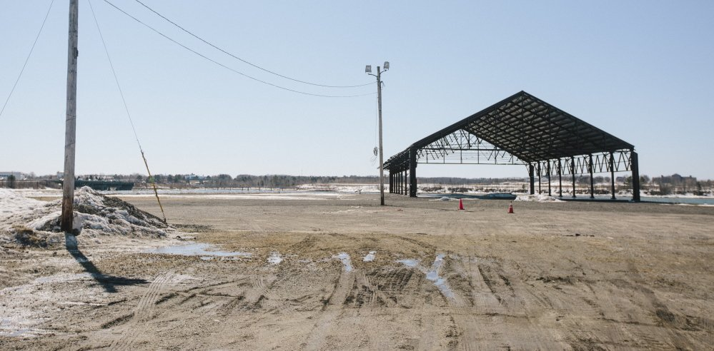 Thompson's Point, a 30-acre site along the Fore River that's in the midst of development for mixed uses, offers an outdoor music venue that will hold about 5,000 people for now.