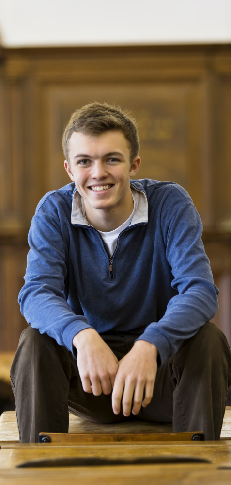 """Noah Altshuler, 17, has been commissioned to write a play based on """"The Adventures of Tom Sawyer."""""""