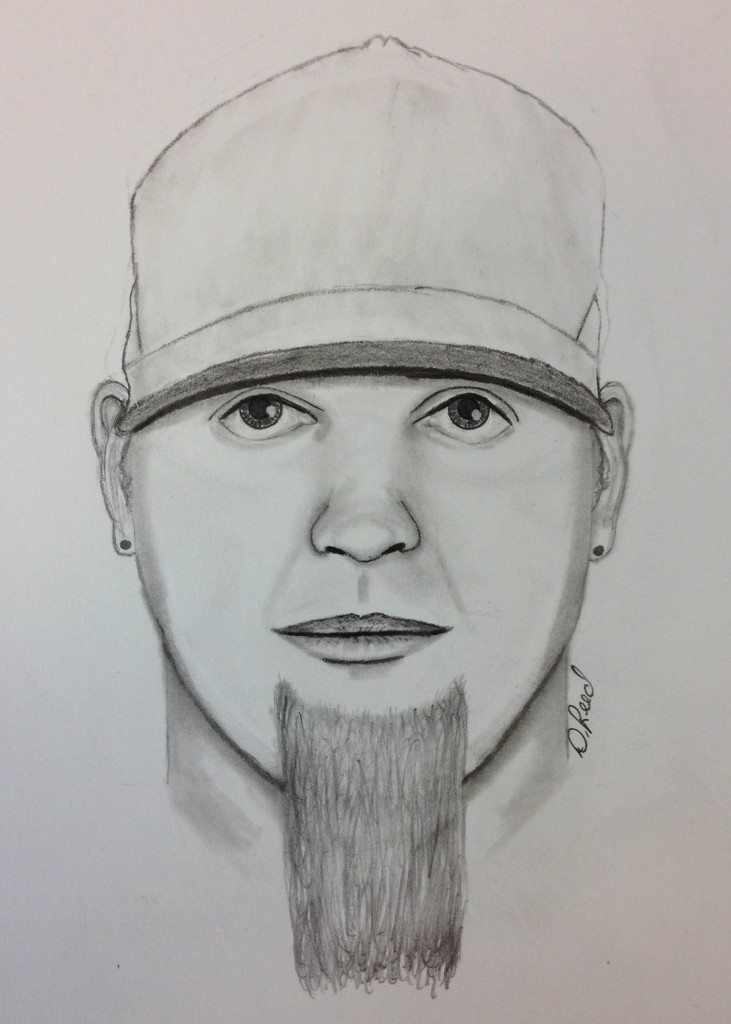 Police say this man tried to lure an 11-year-old girl into his car in Brunswick on Wednesday afternoon and later exposed himself to two girls.