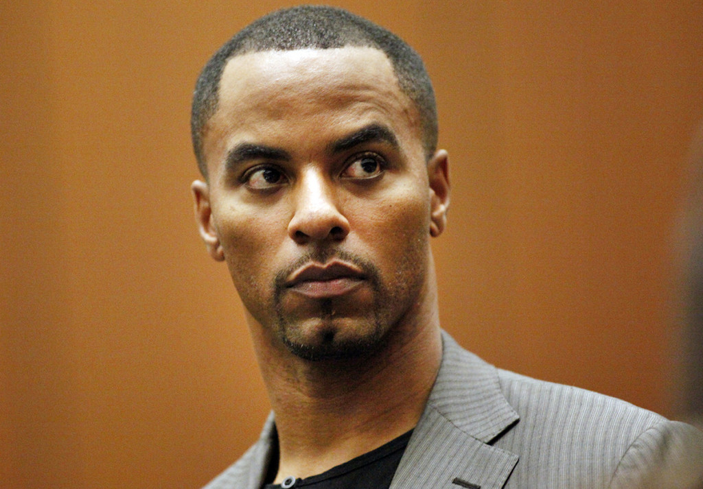 Former NFL safety Darren Sharper appears in Los Angeles Superior Court in Los Angeles in this Feb. 20, 2014, photo. Rape charges were filed in Los Angeles on Friday, The Associated Press / Los Angeles Times