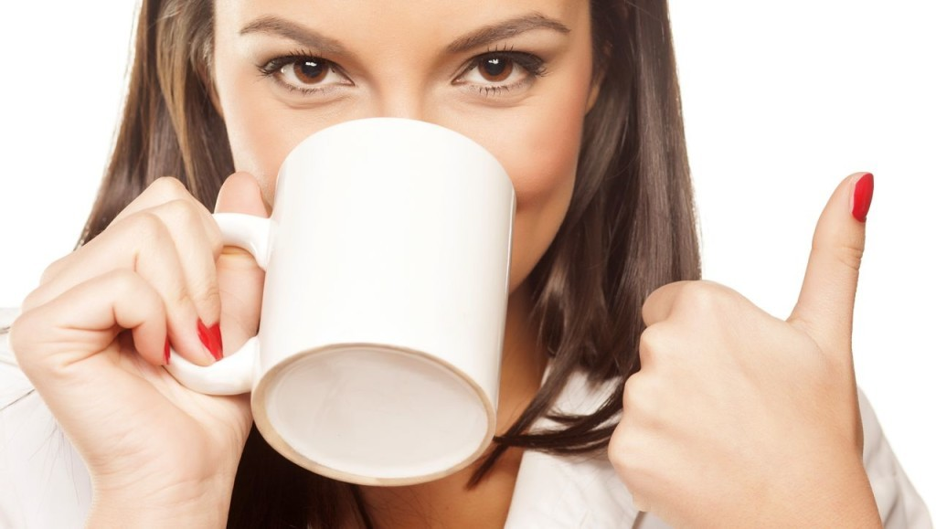 Researchers found that people who drink between three and five cups of coffee a day are likely to have less coronary artery calcium, or CAC, than those who drink no coffee at all. Shutterstock image