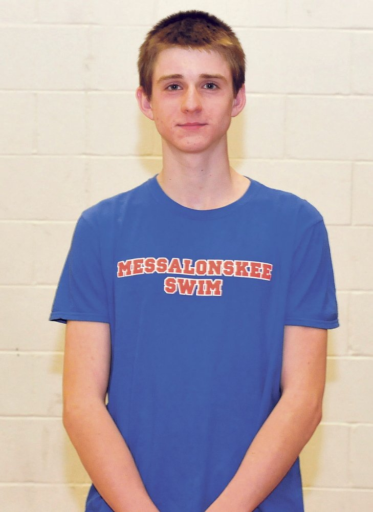 Messalonskee's Ben Thibert is the Morning Sentinel Boys Swimmer of the Year.
